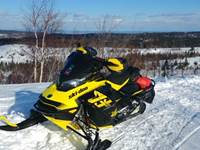2018 Ski-Doo MXZ® X 850 E-TEC® - Sunburst Yellow/Black