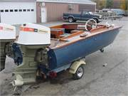 1972 Homemade Boats wooden  catamaran twin engines