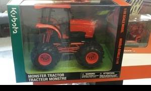Scale Monster Tractor