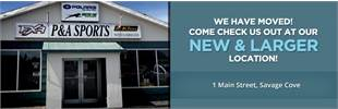 We have moved! Come check us out at our NEW & larger location! 1 Main Street, Savage Cove