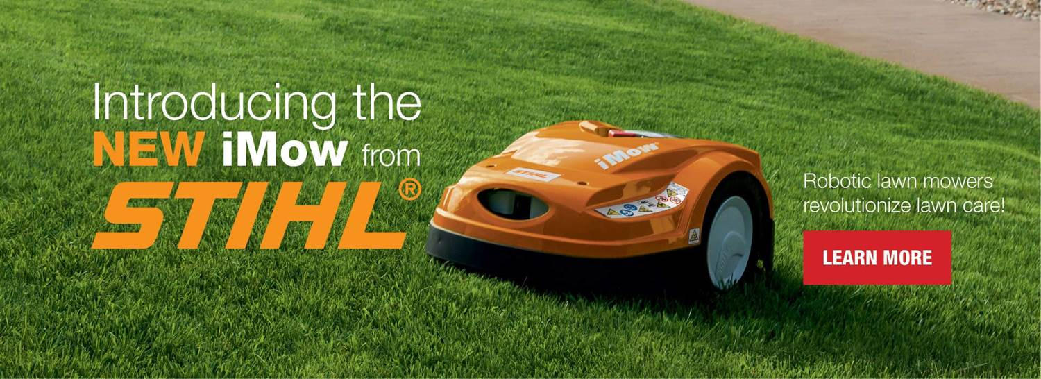Introducing the new iMow from STIHL. Robotic lawn mowers revolutionized lawn care. Learn more.