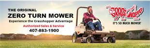 Click here to view our Grasshopper Zero Turn Mowers brochures.