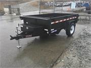 2018_Sure-Trac_5x8_Dump_Trailer_5000_GVW_BARN_DOOR