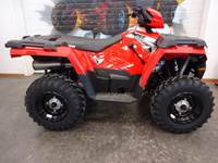 2019 Polaris Industries Sportsman 450 HO Indy Red