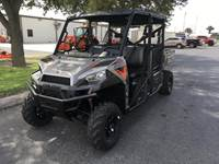 2019 Polaris Industries RANGER CREW® XP 900 EPS - Silver Pearl