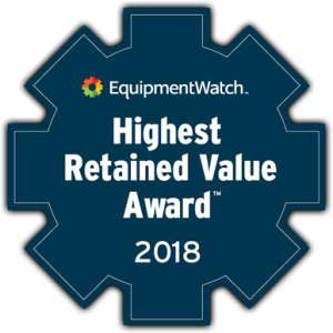 Highest Retained Value Award 2018