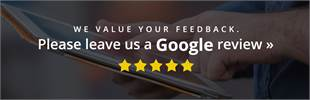 We value your feedback. Please leave us a Google review.