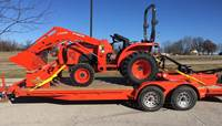 2019 Kubota L3901 (HST 4WD) Tractor Loader Mower & box blade PACKAGE DEAL