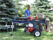 Log Splitter Rental Action