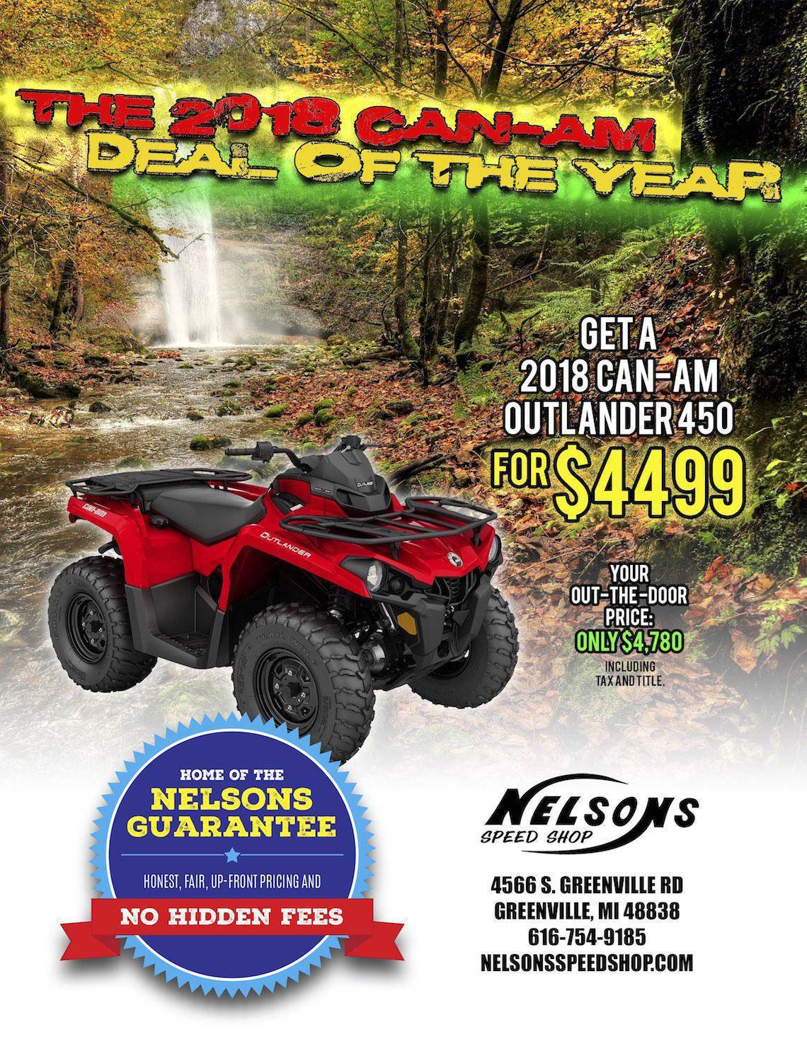 October Can-Am Deal-Nelsons 1140