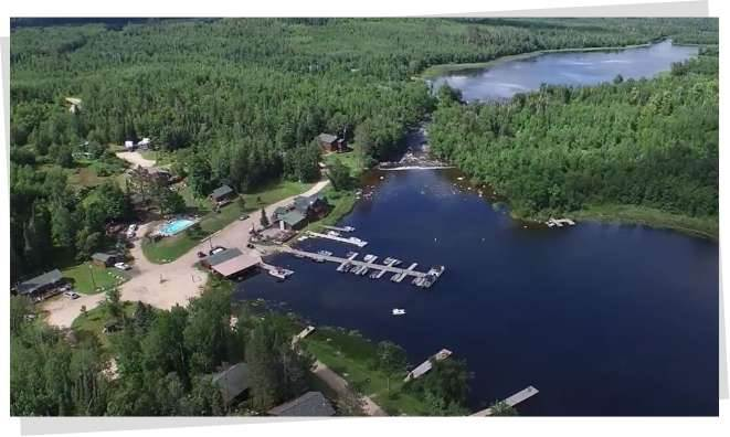 Welcom to Vermilion Dam Lodge located on Lake Vermillion