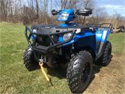 Sportsman 570 Blue Explorer Pkg 1