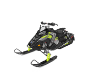 2019 Polaris Industries 600 RUSH XCR ES. Black/Lime. Plus Freight.