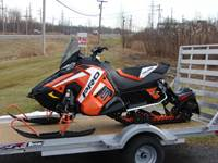 2019 Polaris Industries 800 RUSH PRO-S ES. Orange. Plus Freight.
