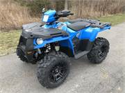 Sportsman 570 Blue with Black Whl Pkg 1