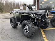 Sportsman 570 Green with Wheels and Brushguard 1