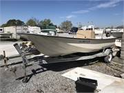 1981 McKee Craft 17 Center Console HULL & TRAILER