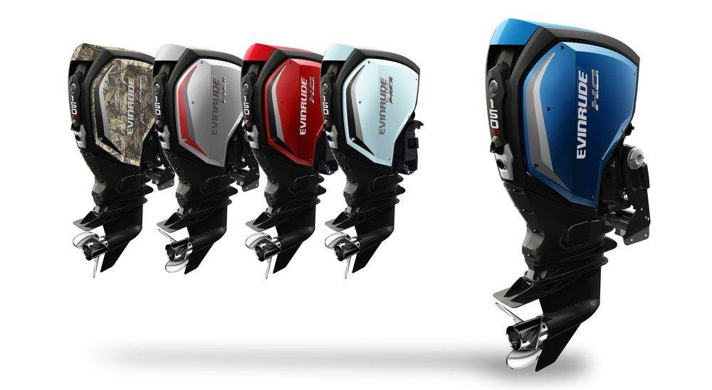 evinrude e-tec g2 engine at coastline marine pompano beach