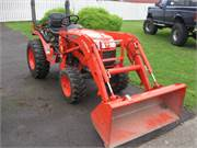 Kubota B2620 with Loader $13,000 6-20-20191