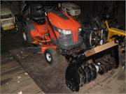 Husqvarna 2042LS 42in deck with 42in blower