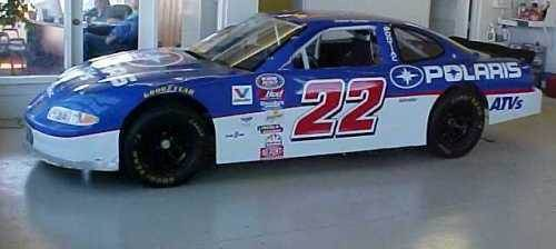 Ward Burton Car