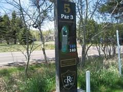 ridgeview marker for hole05