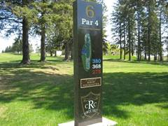ridgeview marker for hole6