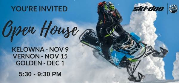 2017 SkiDoo Open Houses Email Ad