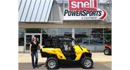 Lynn Preuss and her 2014 Can-am Commander 800 DPS