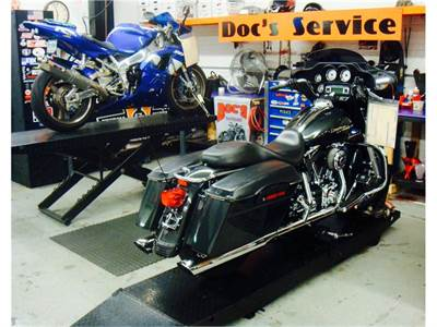 Doc's Motorcycle Parts Service Department