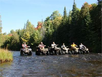 Leisurely Minden ATV Tour