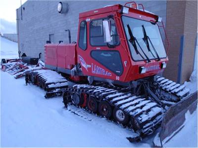 Heart of Ontario's Lamtrac groomer @ Williamson's