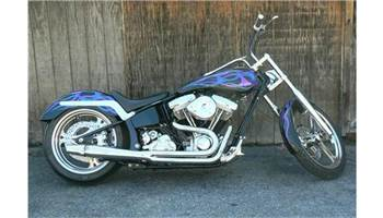 1998 Pro Street Custom Motorcycle 5 inch Stretch