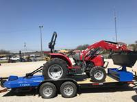 2017 Massey Ferguson 1742 Package Deal