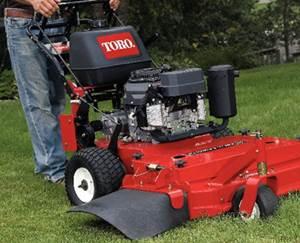 Stand Behind Lawn Mower >> Toro Zero Turn Walk Behind Lawn Mowers Dickens Turf