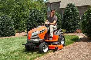 Choose a Husqvarna Lawn Tractor