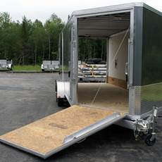 Aluminum Enclosed Trailers