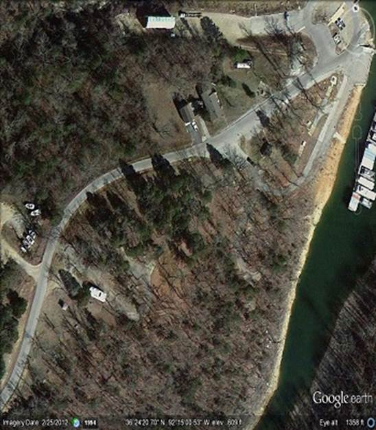 Satellite View Campground 101 Boat Dock Lake Norfork