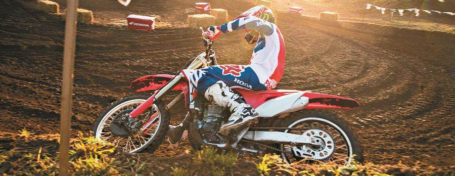2018 Honda CRF450R in Competition
