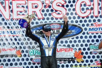 Four Time NHRA Pro Stock Motorcycle Champion