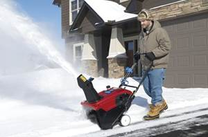 snow thrower maintenance