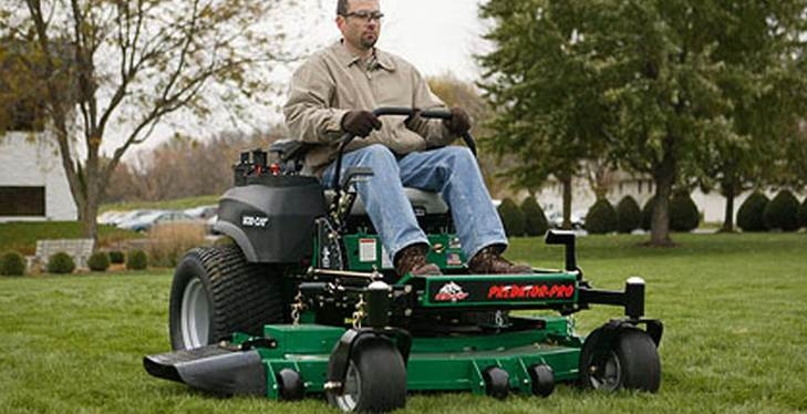 Lawn care made easy with Bob Cat commercial lawn mowers