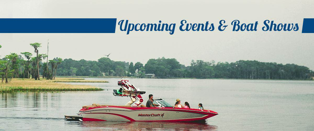 Upcoming Events & Boat Shows