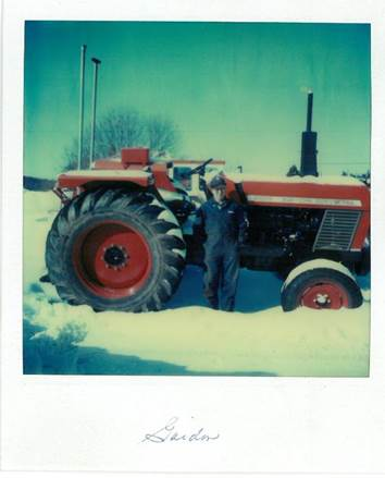 Gordon with Zetor Tractor