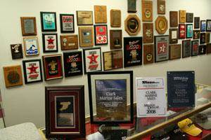Clark Marine Wall of Fame