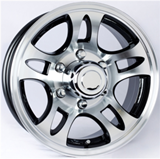 Brushed Aluminum Wheel Package