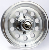 Brushed Aluminum Wheel Package 2