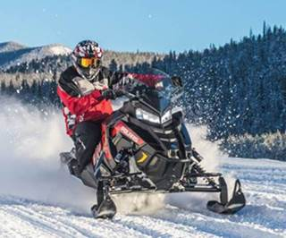 Polaris Switchback Snowmobiles
