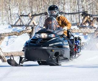 Polaris WideTrak Snowmobiles
