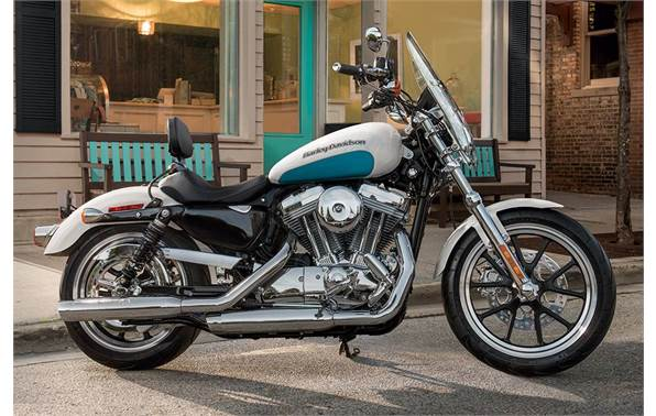 2016 Harley-Davidson® XL883L SuperLow® - Two-Tone Option